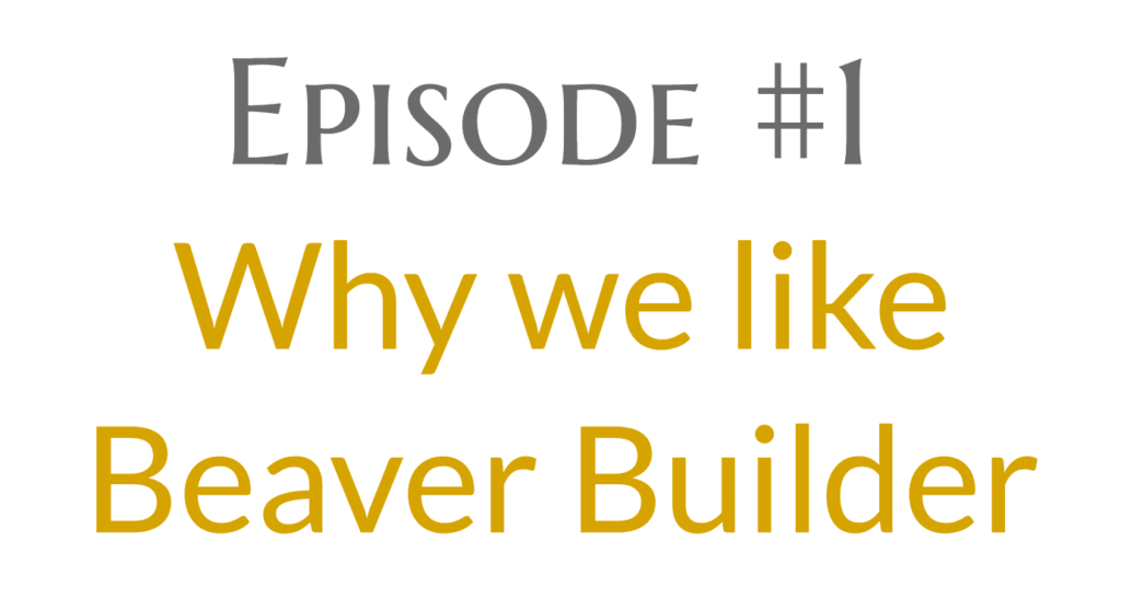 Why we like Beaver Builder Page Builder