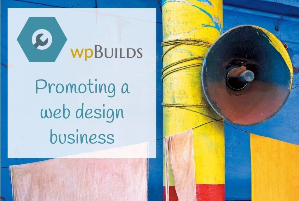 Promoting a web design business