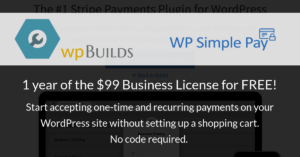 WP Simple Pay Business License Competition