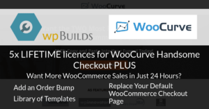 Win one of 5 LIFETIME licences for WooCurve Handsome Checkout PLUS