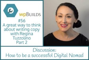 A great way to think about writing copy with Regina Tuzzolino Part 2