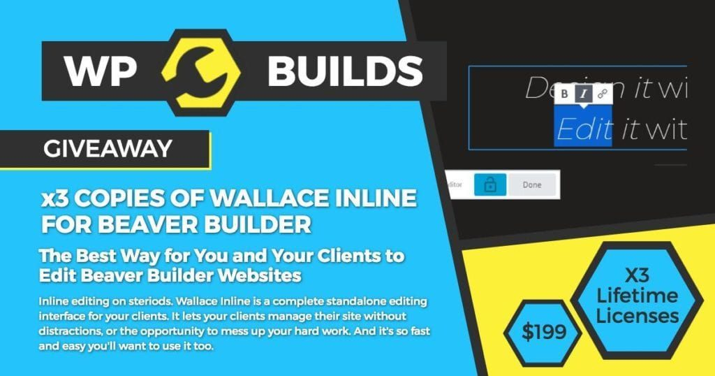 WP Builds Giveaway Wallace Inline