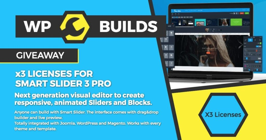 Win x3 Licenses for SmartSlider3 Pro