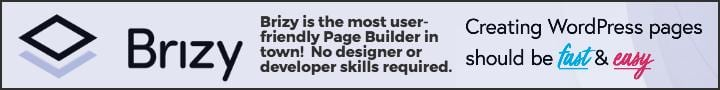 Get the Brizy Page Builder Now!