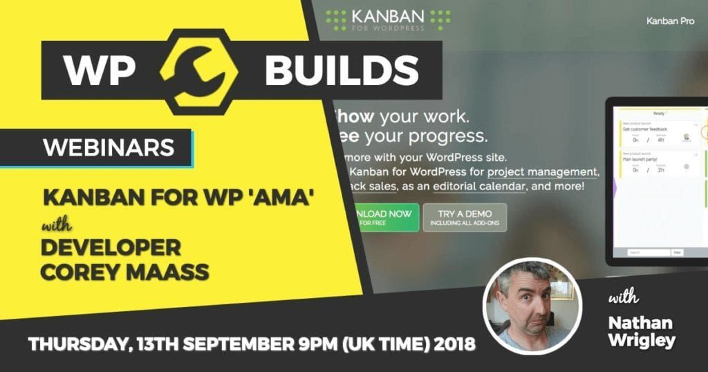 WP Builds - Webinar - Kanban for WP
