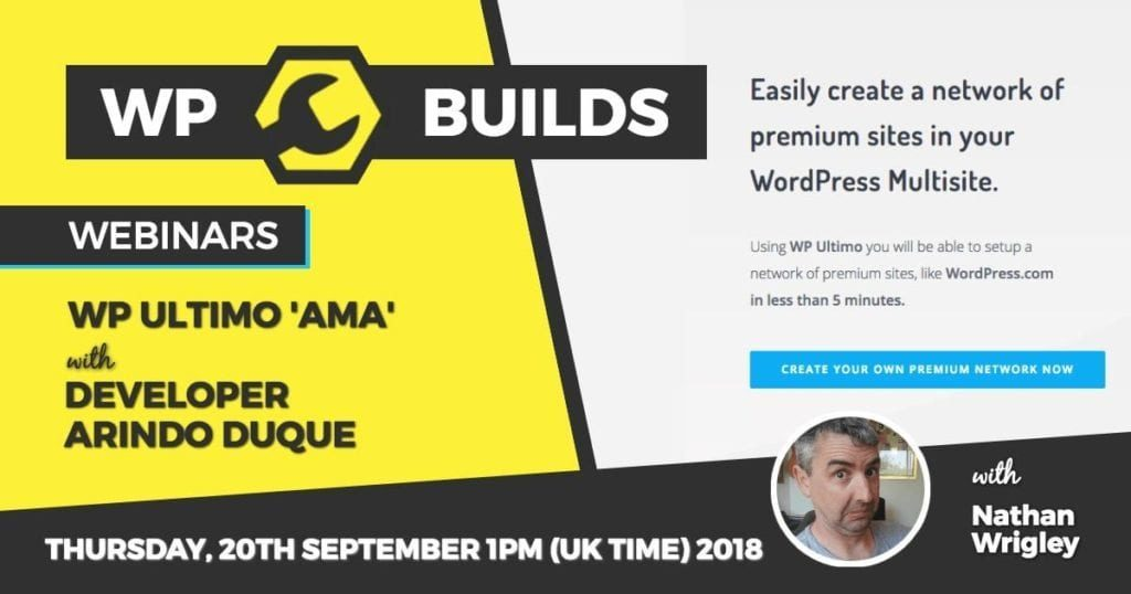 WP Builds - Webinar - WP Ultimo