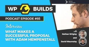 93 - What makes a successful proposal with Adam Hempenstall