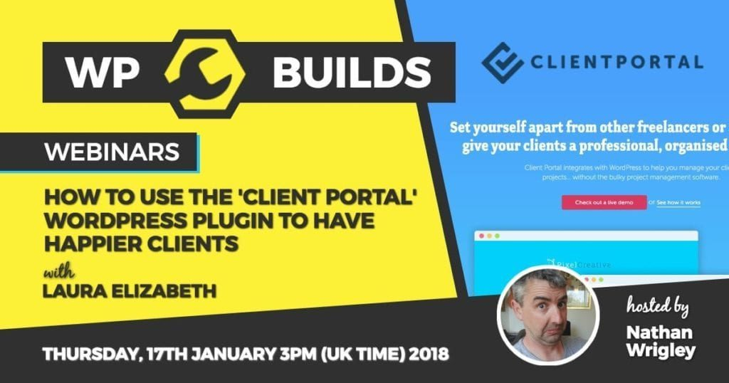 WP Builds - Webinar - Client Portal