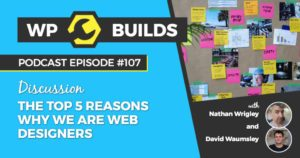 107 - The top 5 reasons why we are web designers