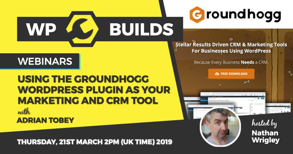 Using the Groundhogg WordPress plugin as your marketing and CRM tool