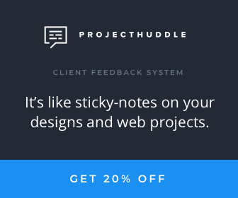 Get 20% off Project Huddle with WP Builds