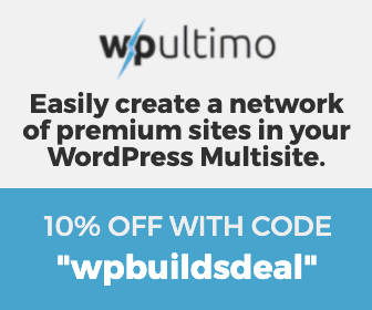 10% off WP Ultimo with WP Builds