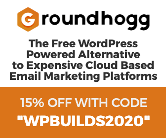 15% off Groundhogg WordPress Plugin on the WP Builds Deals Page