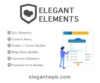 Get 15% off Elegant Elements for WPBakery Page Builder on the WP Builds Deals Page